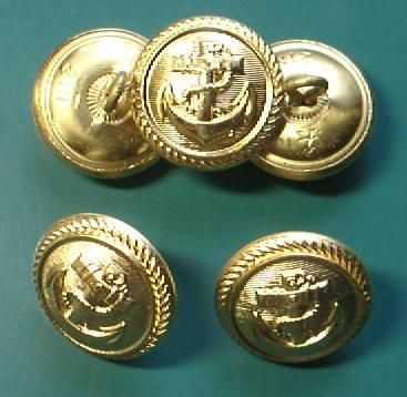KM海軍ボタン