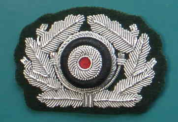陸軍将校リーフ&コカルデ帽章