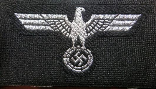 士官Pz陸軍ワシ帽章