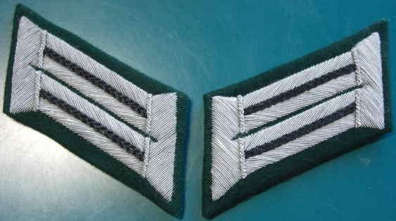 陸軍工兵将校襟章