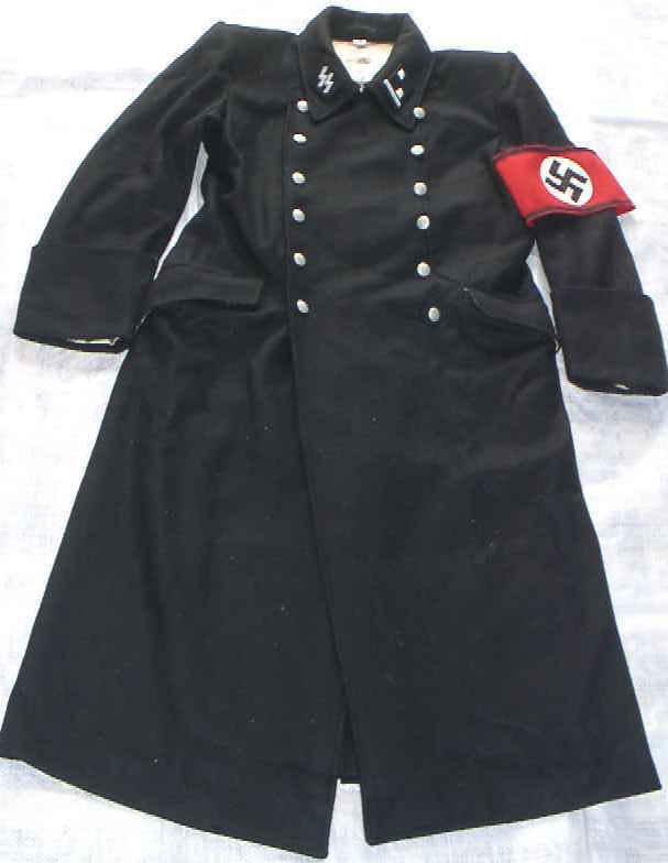 SS親衛隊黒ロングコート