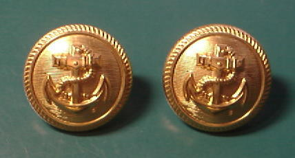 海軍コート用ボタン