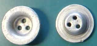 厚3穴皿金属ボタン