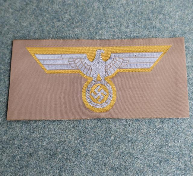 2DAK熱帯陸軍胸鷲章BEVO