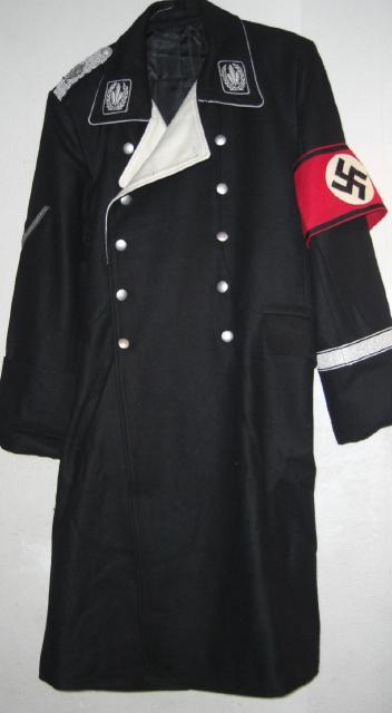 SS将官黒ロングコート