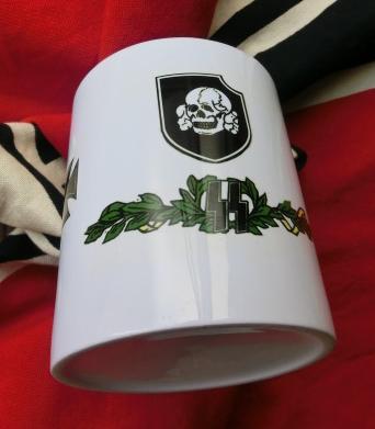 髑髏師団マグカップ
