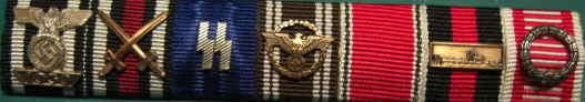 7連武装SS戦功リボンバー