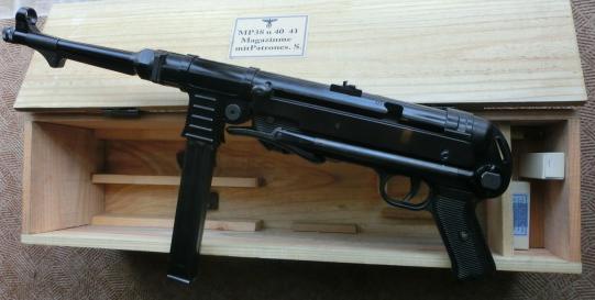 木箱MP40.38短機関銃用