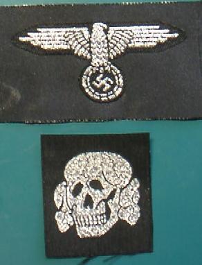 士官SS帽章セットBEVO