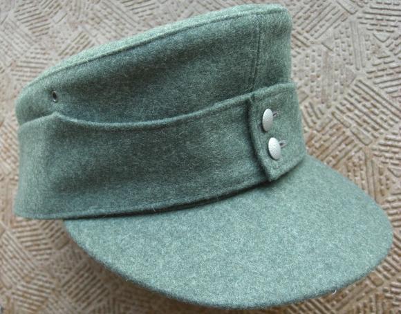 ヤンケM43規格帽フェルトグラウ戦闘帽