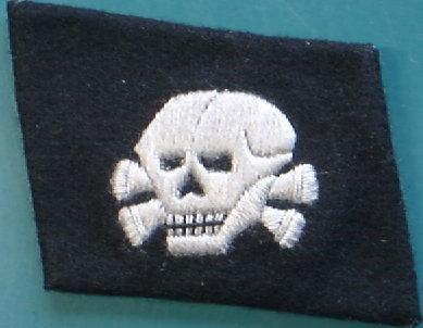 ドクロ兵襟章外向き