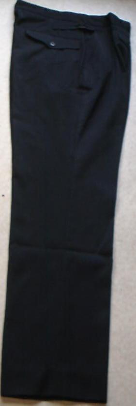 DXストレート黒スラックスズボン
