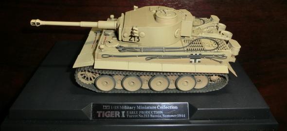 TIGER1タイガー戦車初期型1/48