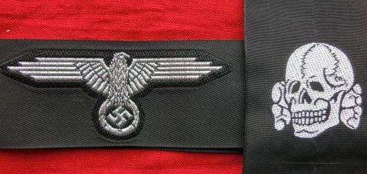 士官SS帽章