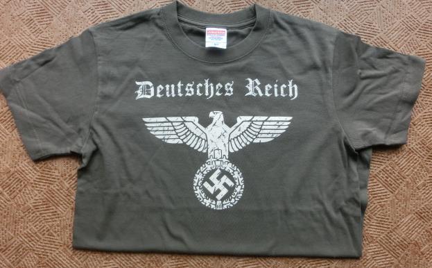 鷲ドイツ帝国Tシャツ