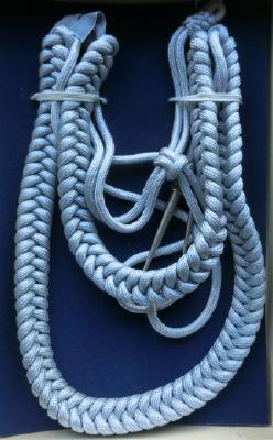 銀編み提げ緒戦後型