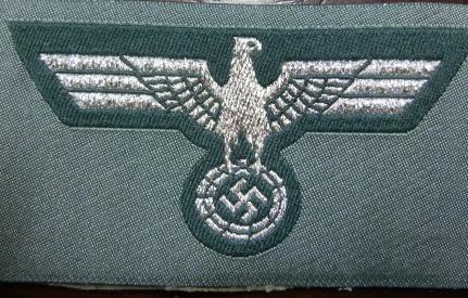 士官陸軍鷲帽章BEVO