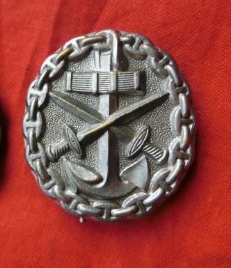 海軍WW1戦傷ドイツ プレスタイプ