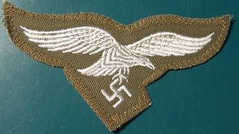 空軍胸鷲章 刺繍熱帯向け