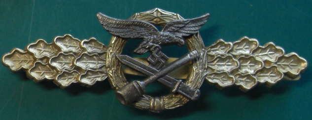 空軍白兵戦章