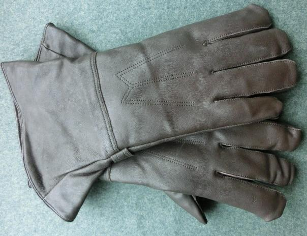Lw革手袋ロング