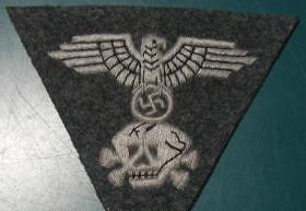 親衛隊兵用帽章ワンピース