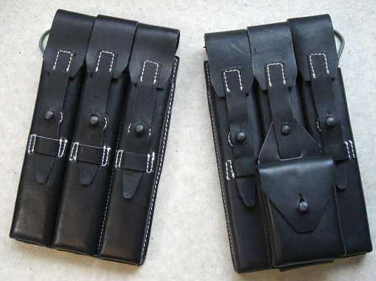 黒MP40マグポーチ革タイプ