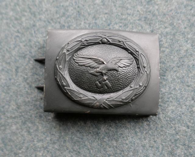 塗空軍バックル兵用 スチール製