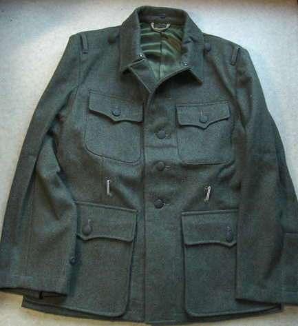 ssM42野戦服(WSS歩兵肩章廉価版つき黒台)