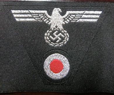 士官陸軍Pz機甲帽章