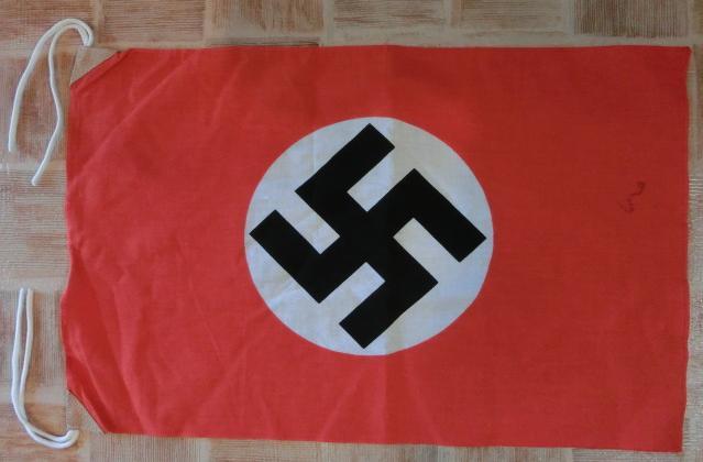 第三帝国旗 綿製 小型サイズ