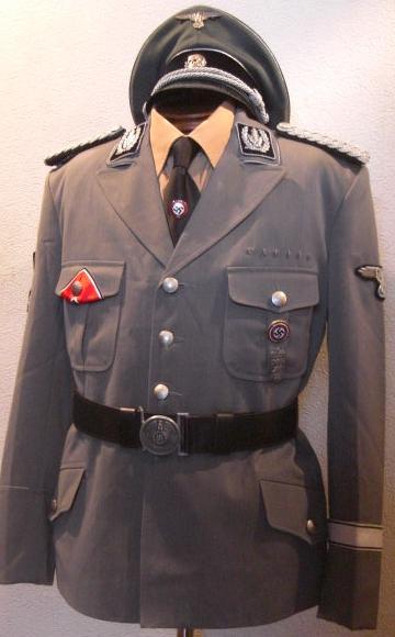M38SS開襟FG色タイプジャケット