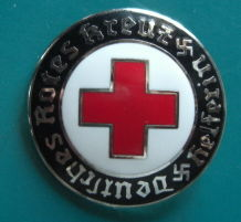 DRK赤十字バッチ