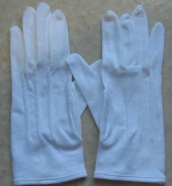 白綿礼装手袋