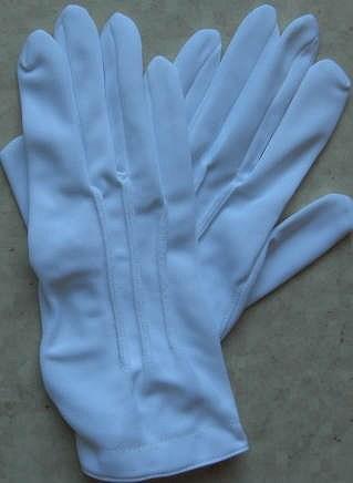 白レーヨン礼装手袋