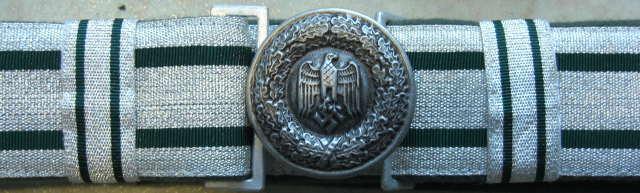 礼装陸軍士官ベルト