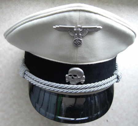 白SS親衛隊将校制帽