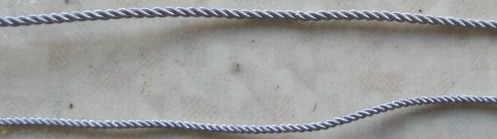 中径襟周り用銀モール線