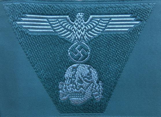 兵SS規格帽用帽章ベボシート