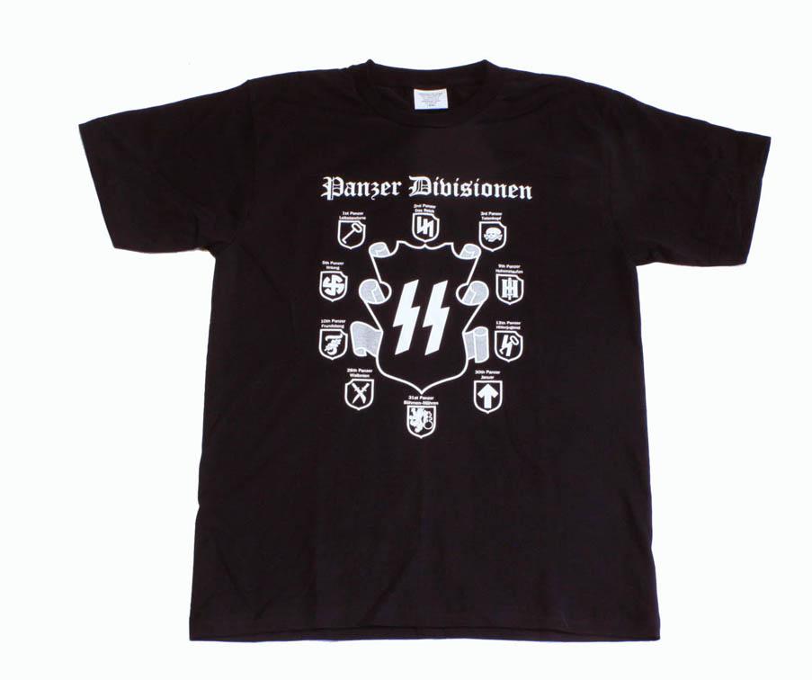 SS機甲師団PzTシャツ