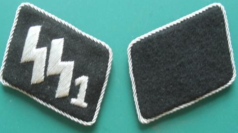 1連隊SS指揮官襟章