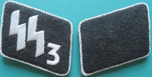 3連隊SS指揮官襟章