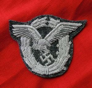 刺繍パイロット章