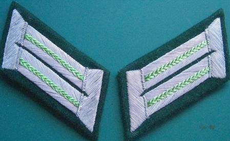 Pzグレナディアー襟章将校