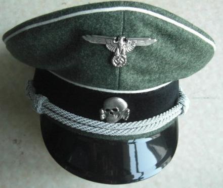 SS特注将校制帽FG色