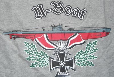 騎士十字UボートTシャツ