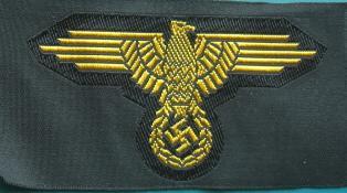 熱帯SS兵腕鷲章BEVO