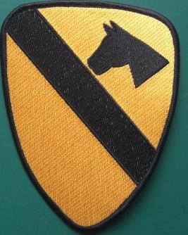 第一騎兵ワッペン