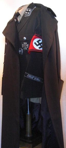 士官親衛隊黒ロングコート