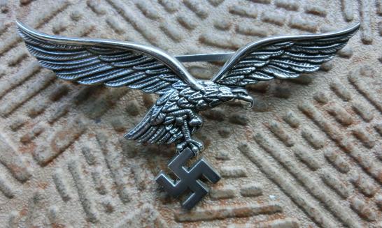 空軍胸鷲章 金属製